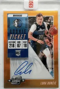most expensive luka doncic rookie card