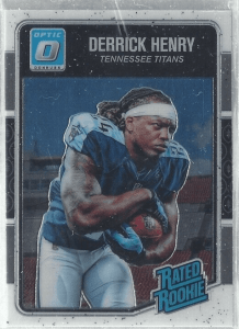 Derrick Henry Donruss Optic Rated Rookie