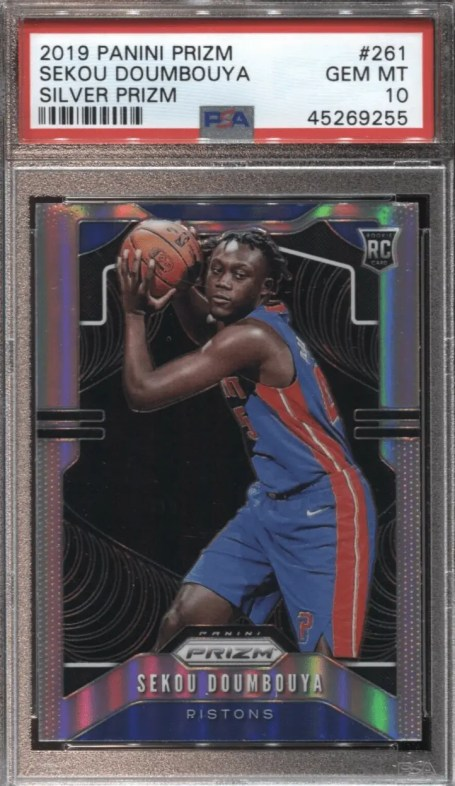 Sekou Doumbouya rookie card