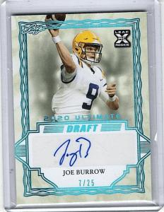 2020 Leaf Ultimate Draft Joe Burrow