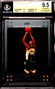 kevin durant rookie card topps