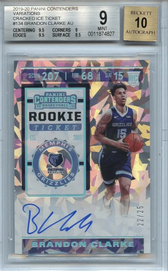Brandon Clarke Rookie Card