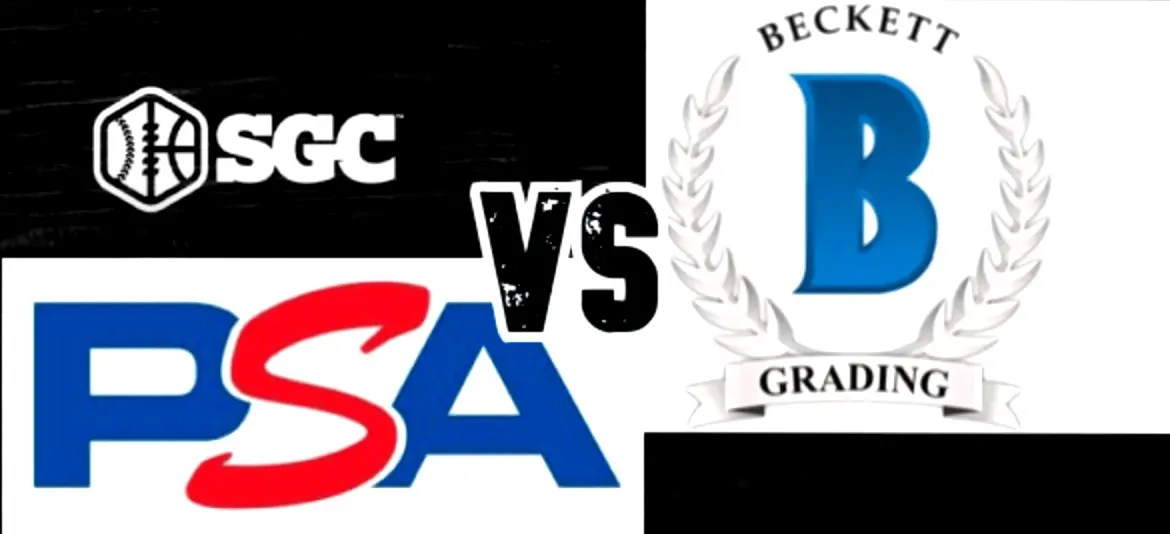 Psa Grading Vs Beckett Grading Vs Sgc Grading Massive Guide And Review