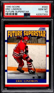 Eric Lindros Rookie Card Score