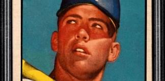 Mickey Mantle topps baseball card