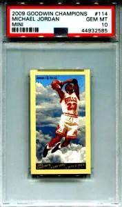 Michael Jordan UD Goodwin card