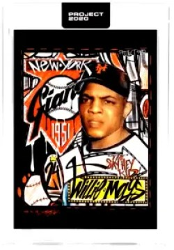 Topps Project 2020 WILLIE MAYS