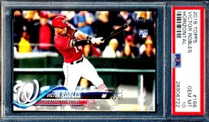 Victor Robles Topps rookie card