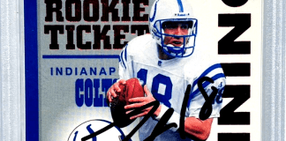 best football quarterback rookie cards to collect
