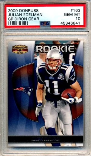 best julian edelman rookie card