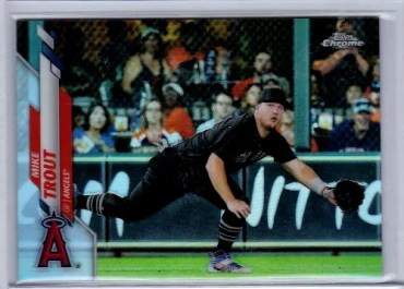 2020 Topps Chrome SSP Mike Trout