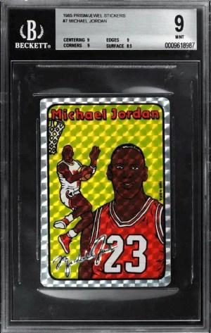 1985 Prism/Jewel Michael Jordan Sticker