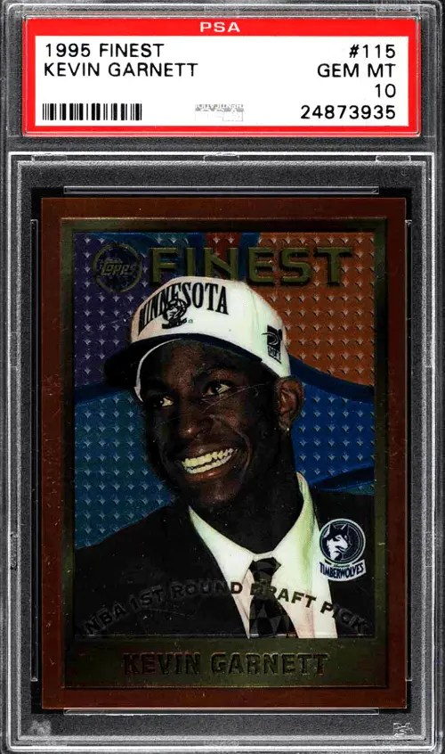 Kevin Garnett rookie cards