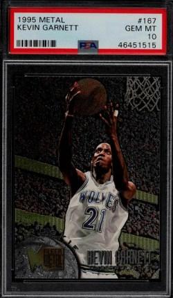 Kevin Garnett Rookie Card Value