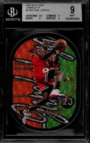Michael Jordan Basketball Cards