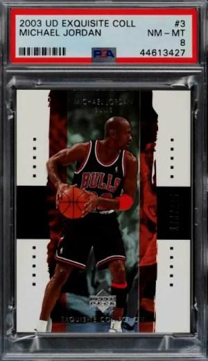 2003 Michael Jordan Exquisite Collection