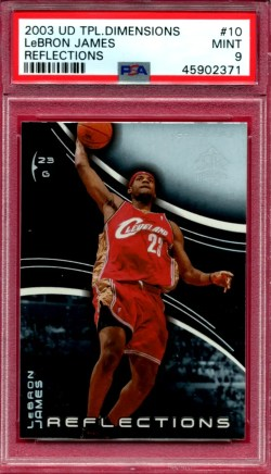 cheap LeBron James rookie cards