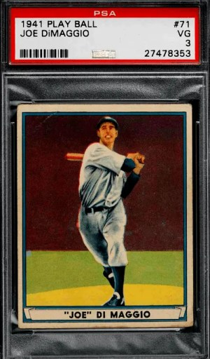 Best Joe DiMaggio Baseball Cards