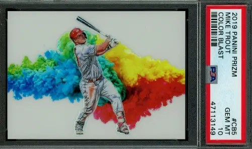 top Mike Trout baseball cards