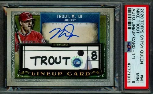 2020 Topps Gypsy Queen Mike Trout