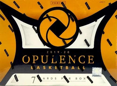 2019 Panini Opulence Basketball
