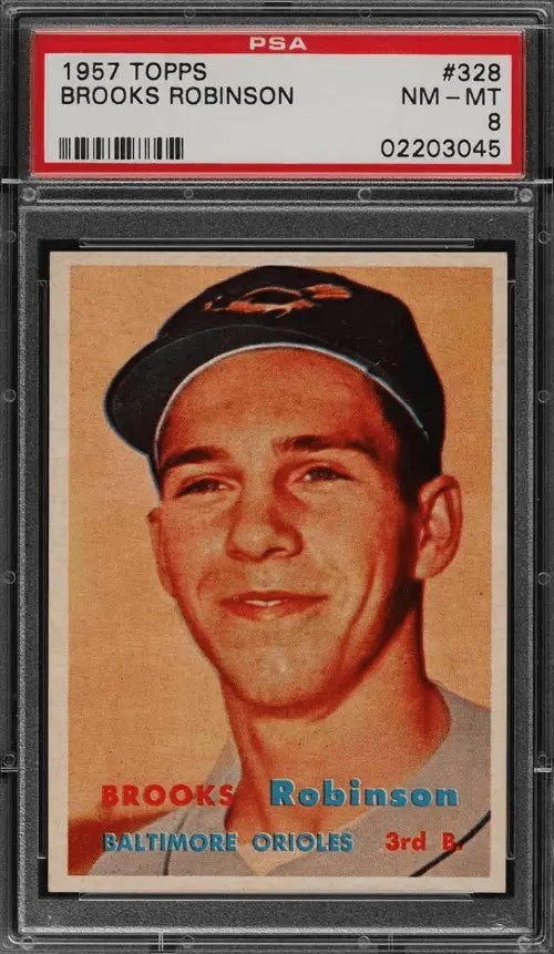 Brooks Robinson rookie card