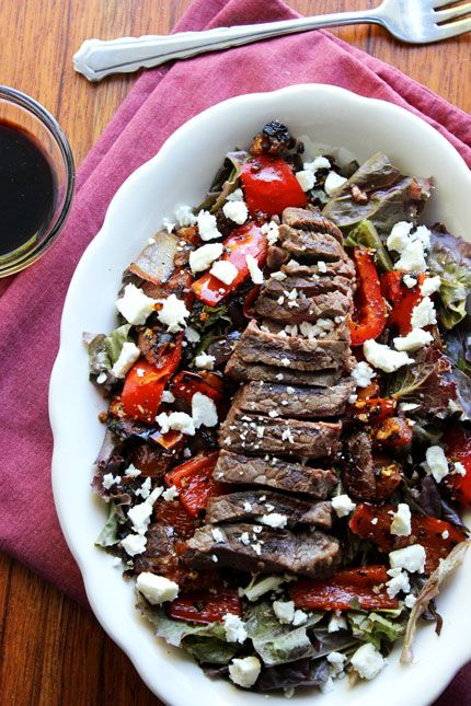 steak salad