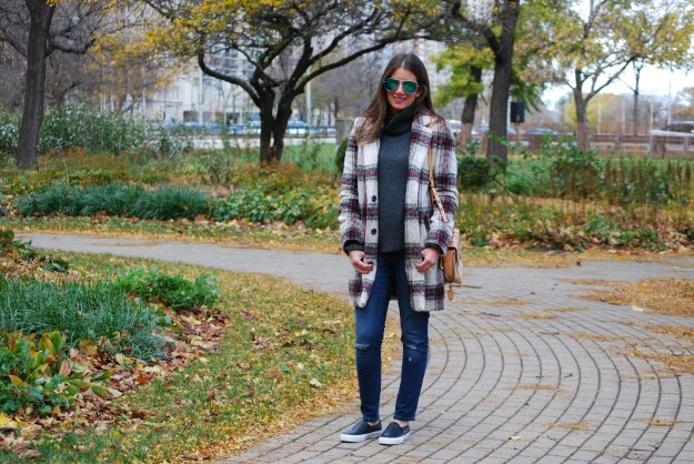 plaid coat 17