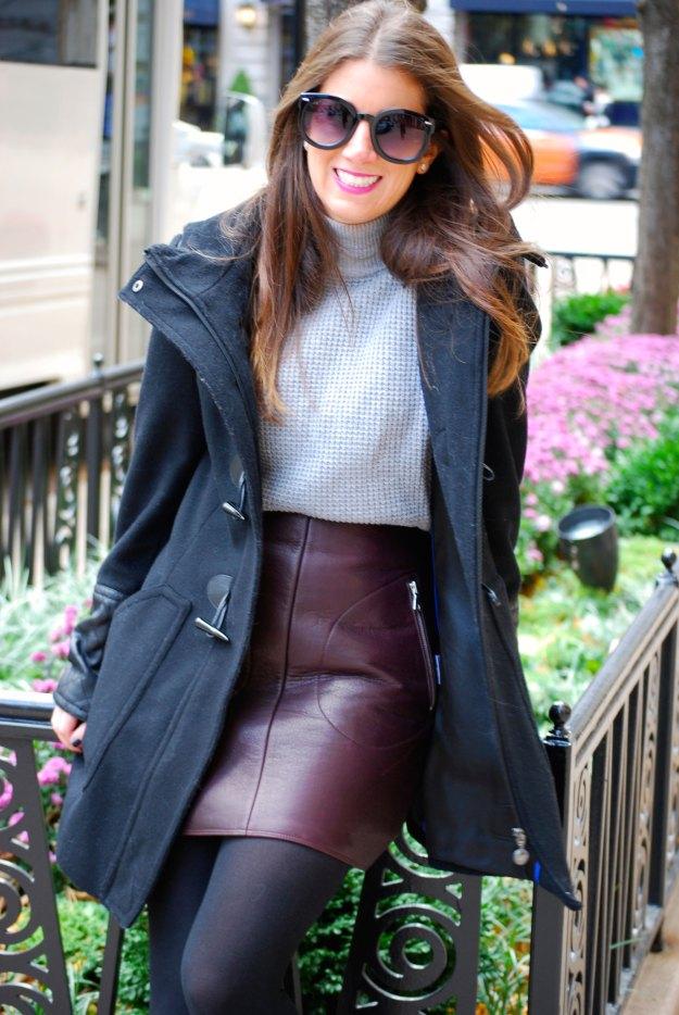 gap leather skirt4