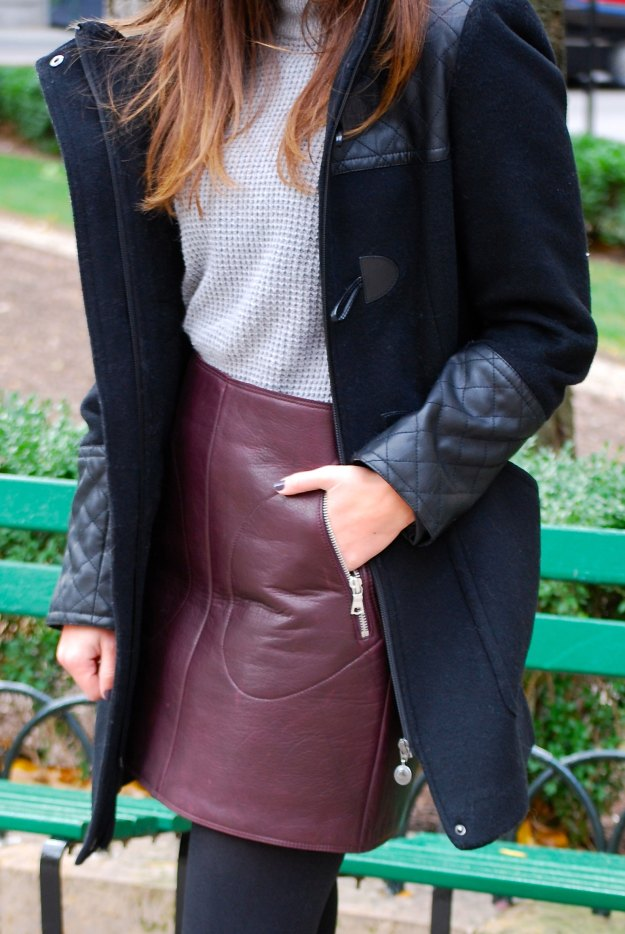 gap leather skirt5