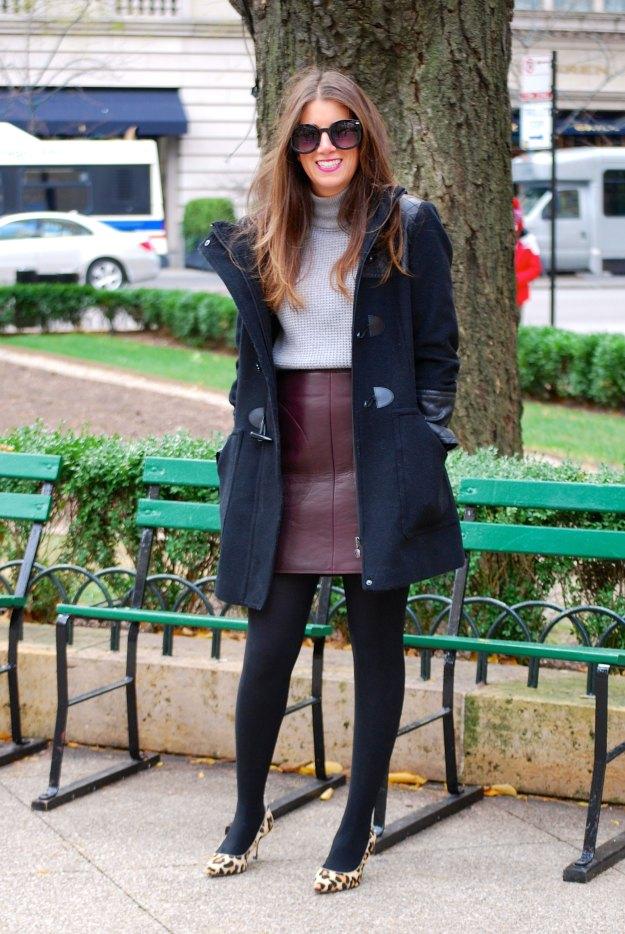 gap leather skirt7