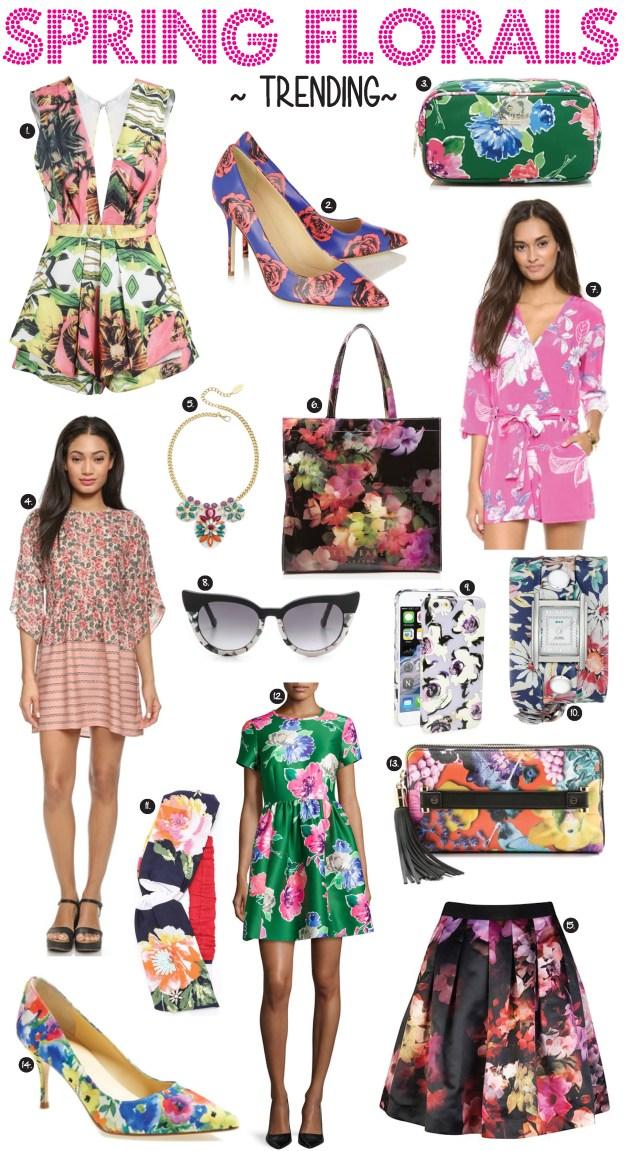 spring florals trending