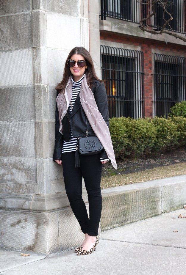 silk scarf and stripes 1