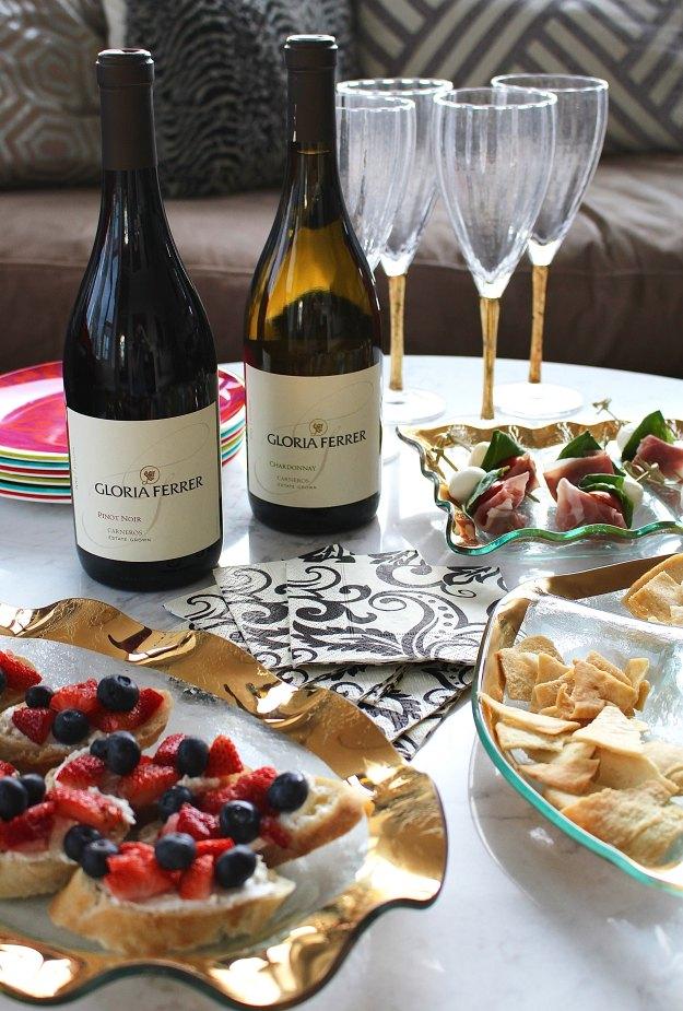 springtime wine party 7