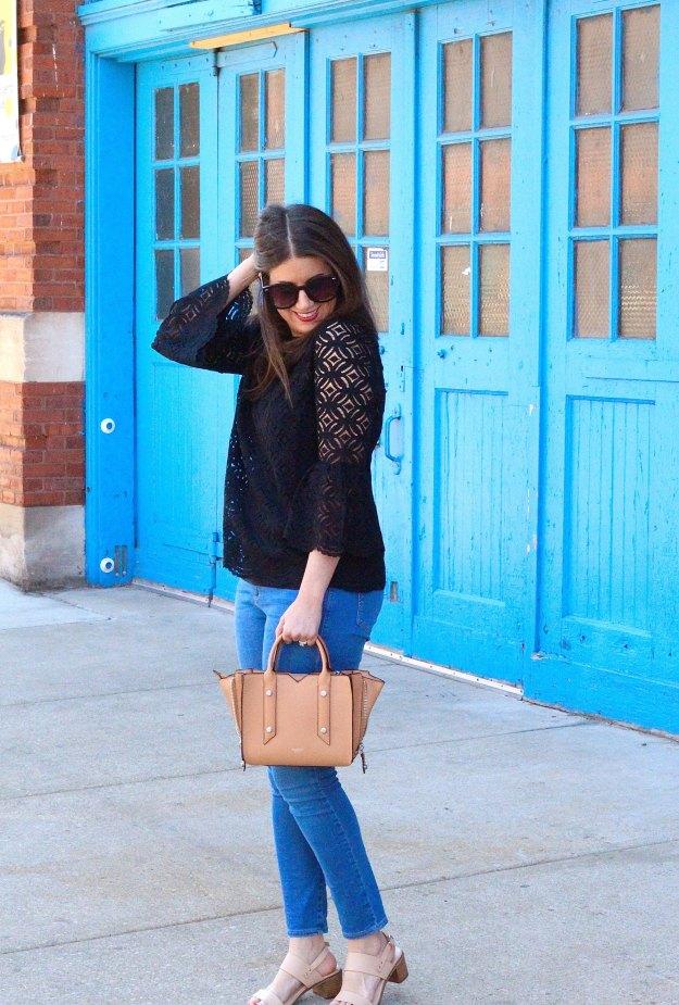 black lace top 3