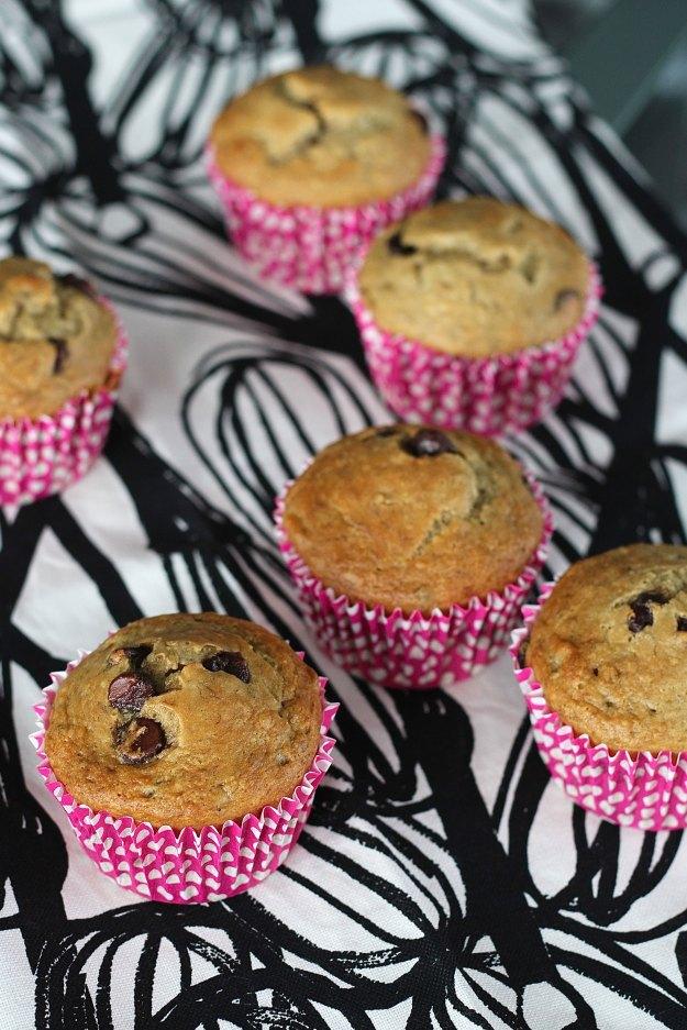 chocolate chip banana muffin recipe 3