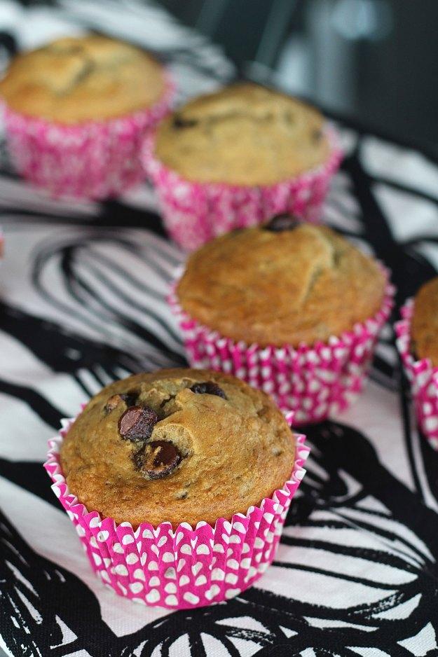 chocolate chip banana muffin recipe 4