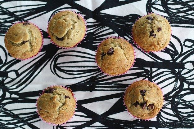 chocolate chip banana muffin recipe 8
