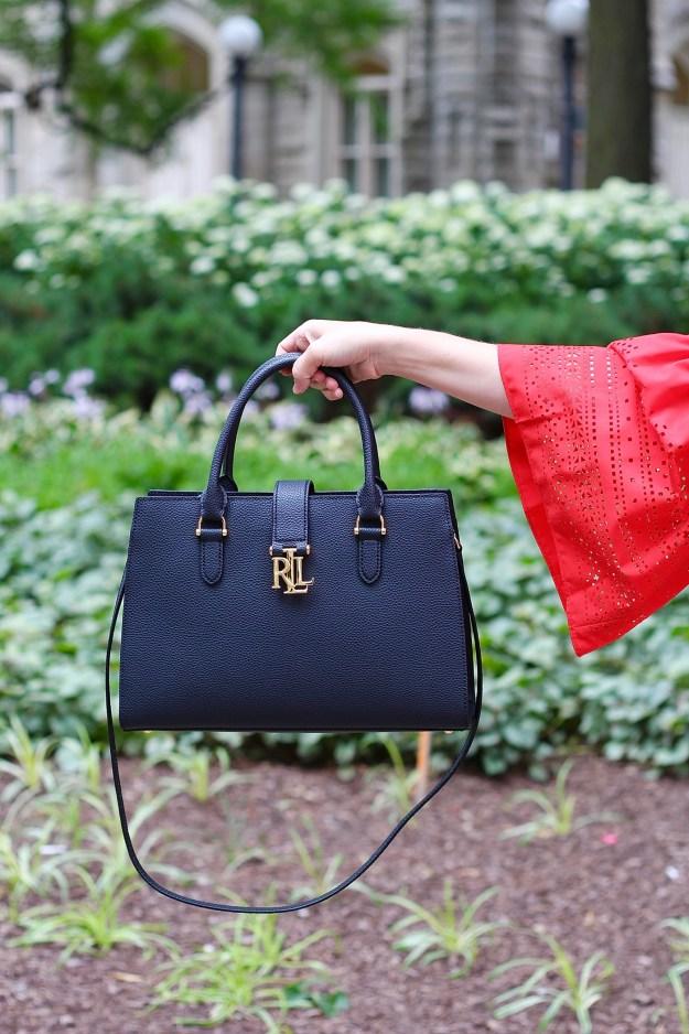 Lauren Ralph Lauren Black Handbag