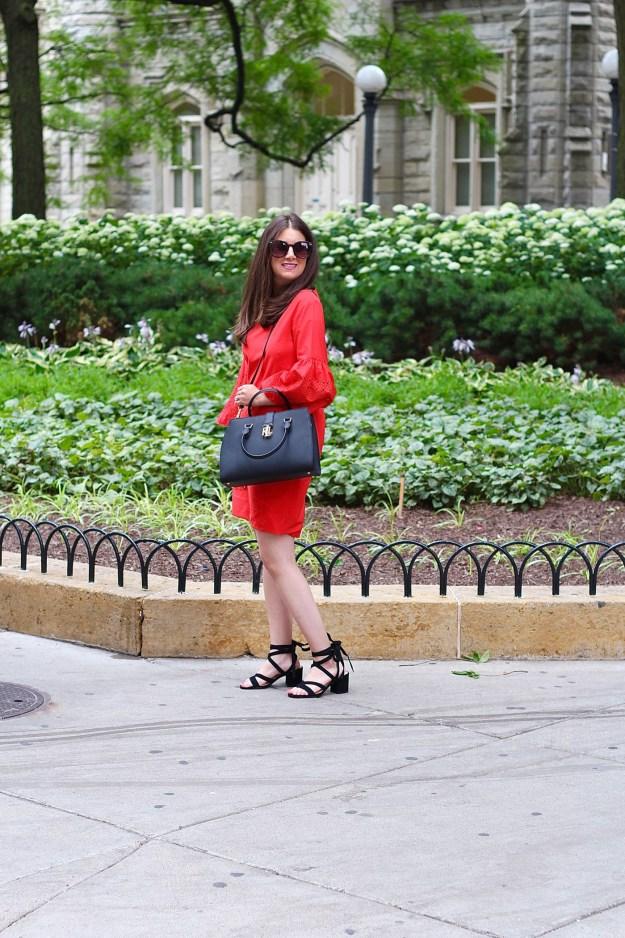 Lauren Ralph Lauren Red Dress