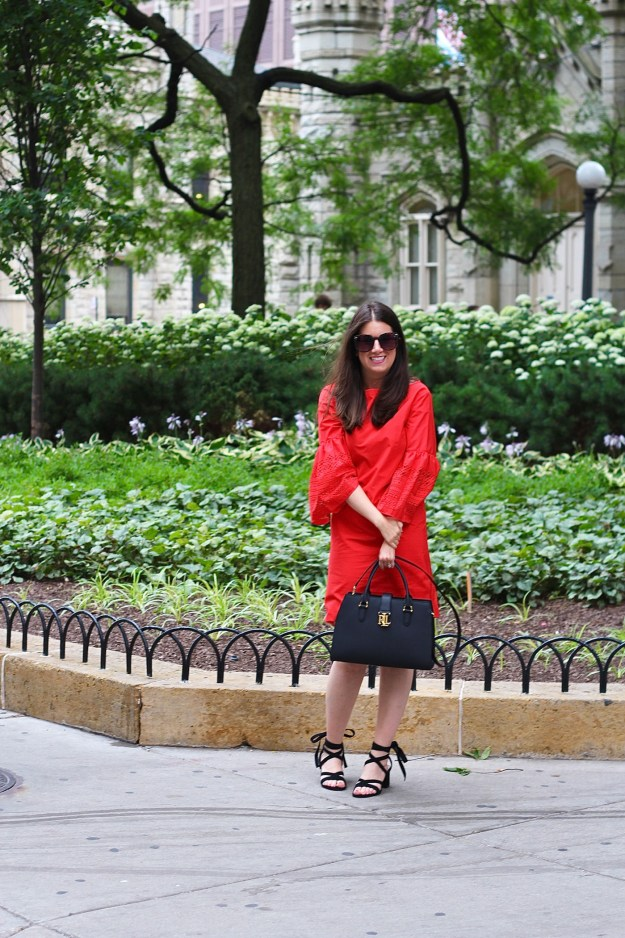 LRL Red Dress