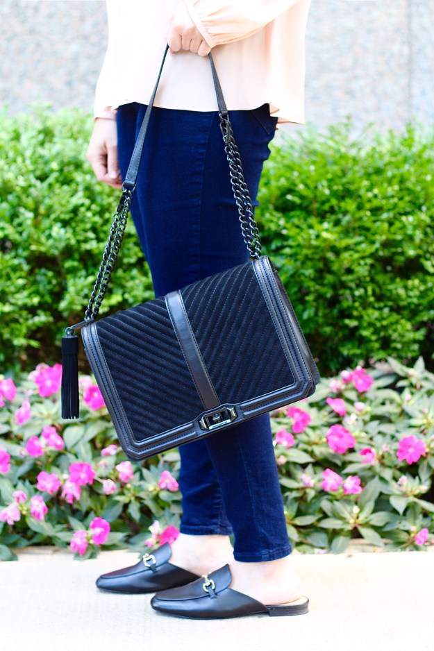 black rebecca minkoff handbag