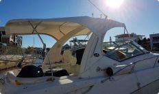 Boat bimini top white