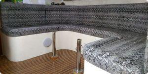 Seat Upholstery - Snakeskin Vinyl