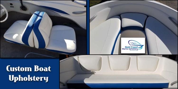 Custom Boat seats upholstery