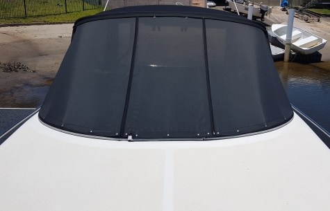 mesh screen - boat windscreen
