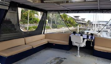 Clears mesh screens houseboat