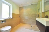 Modernise your bathroom with a doorless shower design