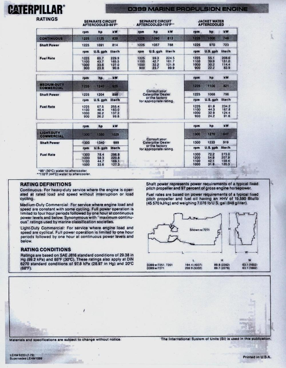 medium resolution of  c12 wiring diagram cat d399 marine engine brochure specification 2 jpg