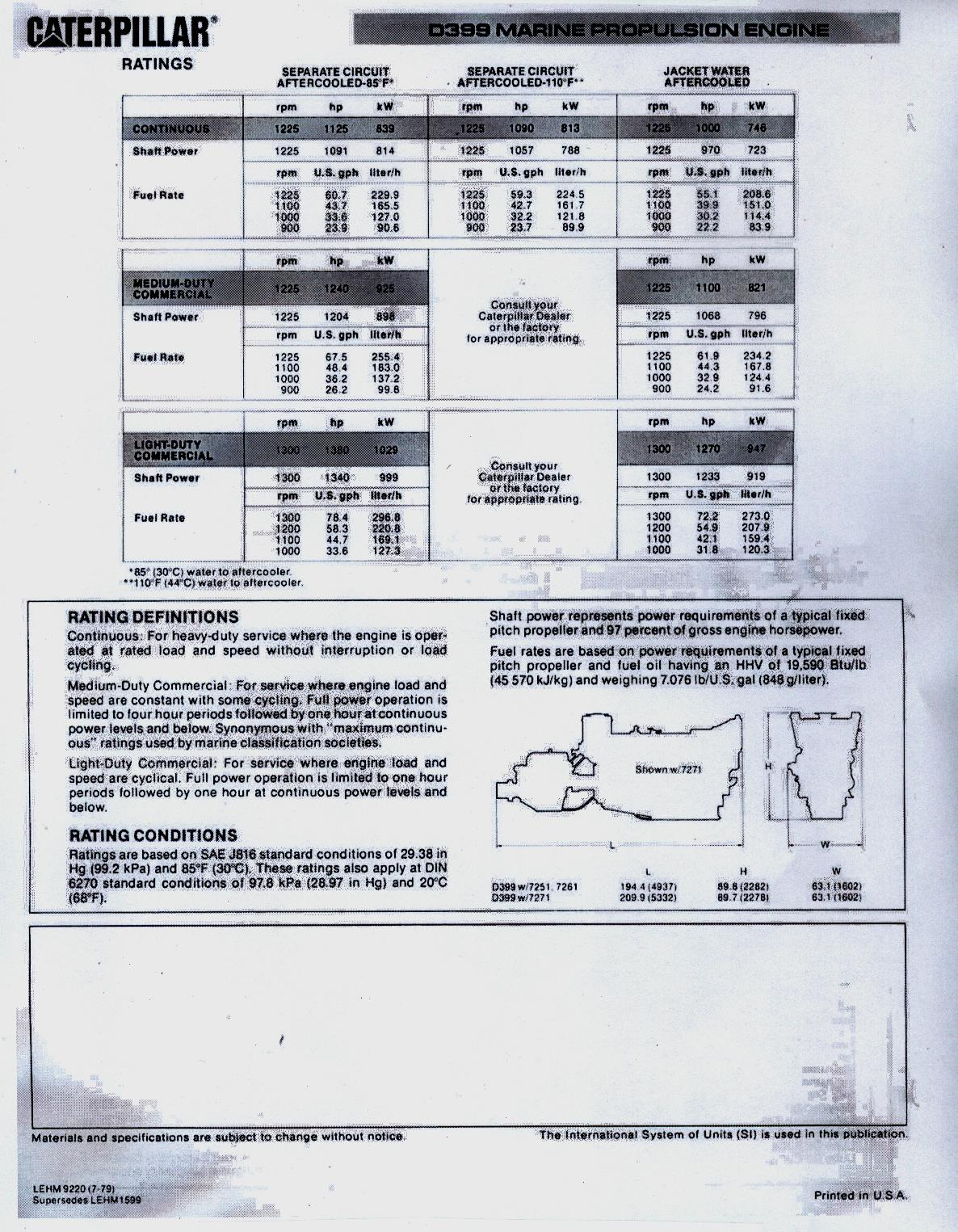 hight resolution of  c12 wiring diagram cat d399 marine engine brochure specification 2 jpg
